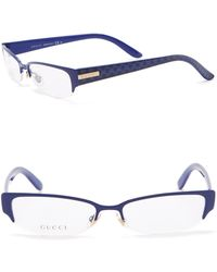 Gucci - 53mm Rectangle Optical Frames - Lyst