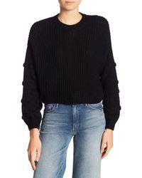 Etienne Marcel - Crew Neck Knit Stitch Sweater - Lyst
