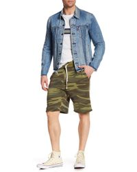 Alternative Apparel - The Hustle Camo Shorts - Lyst