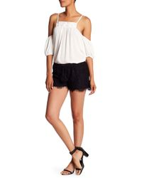 Analili - Abbie Lace Shorts - Lyst