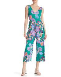 Spense Floral Wide Leg Jumpsuit
