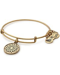 ALEX AND ANI - Charity By Design New Beginnings Charm Expandable Wire Bracelet - Lyst