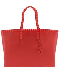 Carmen Sol - Angelica Large Studded Tote - Lyst