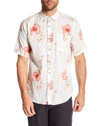 Ezekiel - Laguna Short Sleeve Regular Fit Shirt - Lyst