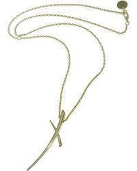 1AR By Unoaerre - Long Necklace With Large Electroform Cross - Lyst