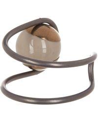 Tomas Maier - Asymmetrical Bead Cuff Bracelet - Lyst