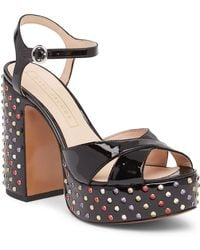 Marc Jacobs - Lust Strass Leather Platform - Lyst