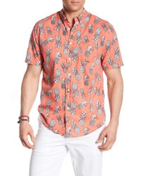 TRUNKS SURF AND SWIM CO - Pineapple Print Shirt - Lyst