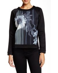 French Connection - Wilderness Bloom Scuba Sweatshirt - Lyst
