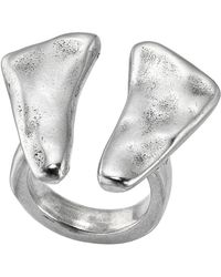 Uno De 50 - Silver Plated O2 Ring - Lyst