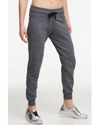 Donna Karan - Embroidered Jogger Sweatpants - Lyst