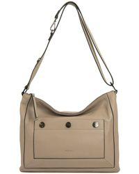 Perlina Sally Leather Crossbody Bag