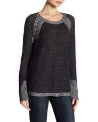 Two By Vince Camuto - Raglan Sleeve Knit Pullover - Lyst