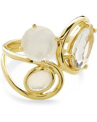 Ippolita - 18k Yellow Gold Rock Candy Semi-precious Stone Squiggle Ring - Size 7 - Lyst