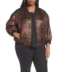 Lafayette 148 New York | Vander Bomber Jacket (plus Size) | Lyst