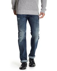 DIESEL | Safado Button Fly Distressed Jeans | Lyst