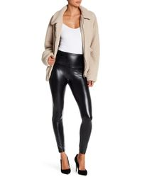 Love, Fire - Faux Leather Stretch Leggings - Lyst