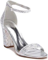 Madden Girl - Beelaa Glitter Ankle Strap Sandal - Lyst