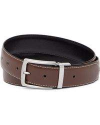 Andrew Marc - 35mm Reversible Casual Leather Belt - Lyst