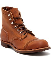Red Wing - Iron Ranger Leather Boot - Factory Second - Wide Width Available - Lyst