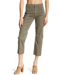 Joe's Jeans - The Jane Released Hem Cargo Trousers - Lyst