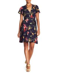 Eva Franco - Jade Printed Wrap Dress - Lyst