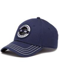 True Religion - Foil & Flock Patch Baseball Cap - Lyst