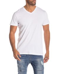 KUWALLA - V-neck Tee - Pack Of 3 - Lyst