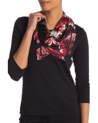 Vince Camuto - Garden Square Silk Scarf - Lyst