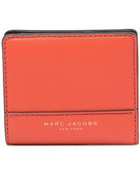 Marc By Marc Jacobs - Saffiano Open Face Leather Billfold - Lyst