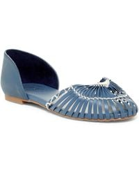 Fergie - Nickle Leather Flats - Lyst