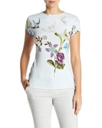 Ted Baker - Marlin Patterned Tee - Lyst