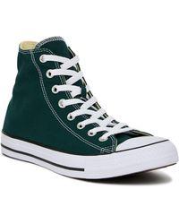 Lyst - Converse Chuck Taylor All Star Seasonal Color Hi in Black for Men ba94af44d