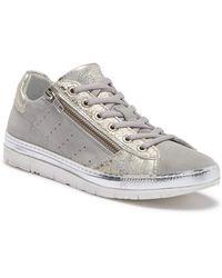 Khrio - Dual Zip Sneaker - Lyst