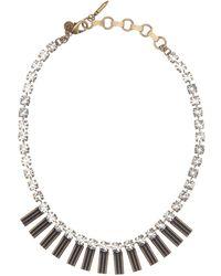 Loren Hope - Arista Crystal Necklace - Lyst