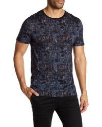 Ted Baker - Crafter Printed Crew Neck Tee - Lyst