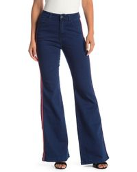 Jealous Tomato - Side Paneling Bell Bottom Jeans - Lyst