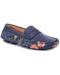 Robert Graham - Jardin Embossed Leather Loafer - Lyst
