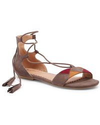 Restricted - Playful Ghillie Lace-up Sandal - Lyst