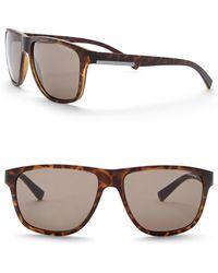 Armani Exchange - Men's Square 55mm Acetate Frame Sunglasses - Lyst