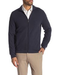 Perry Ellis - Full Zip Sweater - Lyst