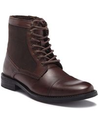 Kenneth Cole Reaction - Masyn Combat Boot - Lyst