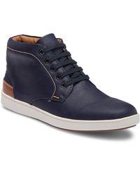Steve Madden - Groom High-top Leather Sneaker - Lyst