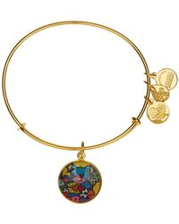 ALEX AND ANI - Britto Friendship Bear Expandable Wire Bangle Bracelet - Lyst