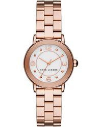 Marc Jacobs - Women's Riley Bracelet Watch, 28mm - Lyst
