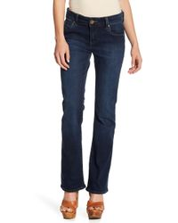 Kut From The Kloth - Natalie Bootcut High Rise Jeans (petite) - Lyst