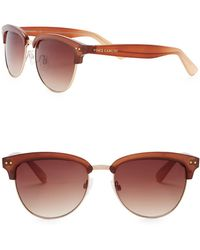 Vince Camuto - Unisex Clubmaster 55mm Metal Frame Sunglasses - Lyst