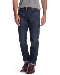 Current/Elliott - Straight Fit Jeans - Lyst