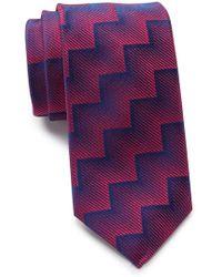 Thomas Pink - Silk Wylie Geo Skinny Tie - Lyst