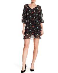 Haute Rogue - Puff Sleeve Mini Dress - Lyst